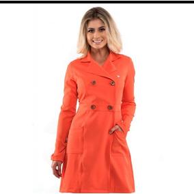 Jaleco Imperatriz Premium Orange Tam Pp ( Pronta Entrega) 3a55520ea4d
