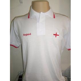 Camisa Polo Inglaterra - Pólos no Mercado Livre Brasil c188f045323ce