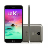 Celular Lg K10 2017 32gb 4g 13mp 5mp 2gb Ram Smartphone Novo