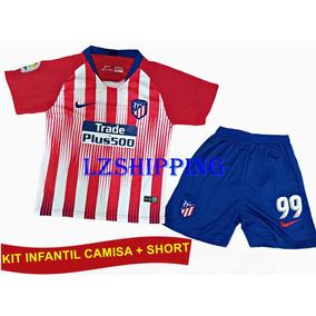 c549a510ae Kit Infantil Atlético De Madrid Original 18 19