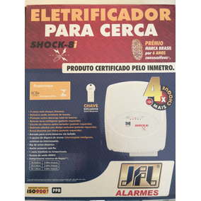 Eletrificador C/ Chave Shock-8i 2 Joules
