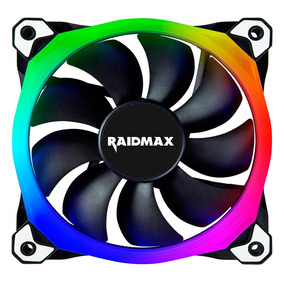 Cooler Fan Rgb Raidmax Nv-r120b Rgb 120mm - Nv-r120b