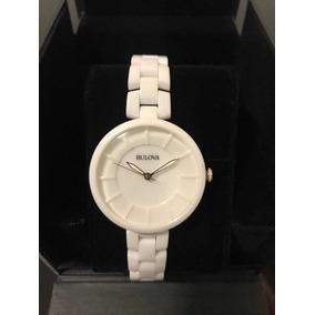 e811e006c93 Relogio Feminino Ceramica Branco Bulova - Relógios De Pulso no ...