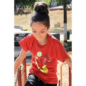 1e60435f6 Camiseta The Flash Infantil Tamanho 16 - Camisetas Manga Curta no ...