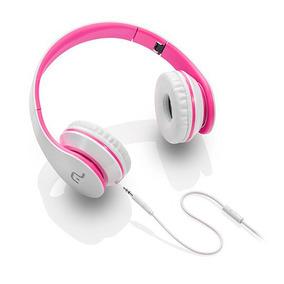 Fone De Ouvido Com Microfone Rosa/branco Multilaser - Ph114