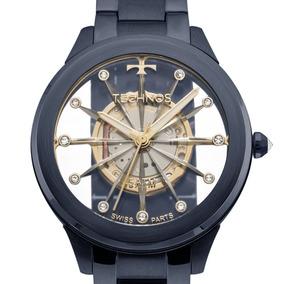 Relógio Technos Automático Esqueleto Mw6166 1c - Relógios De Pulso ... b482a728de