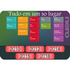 Nero Multimedia Platinum Hd10/12/14/15/16+serial+ativador