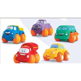 Kit 8 Soft Cars Coleção Completa E Coleção Zoo Garden
