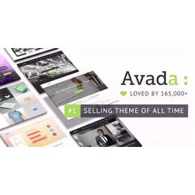 Tema Wordpress Avada V5.8 + Demos + Atualizações Futuras