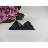 Par De Pirâmide Obsidiana J157