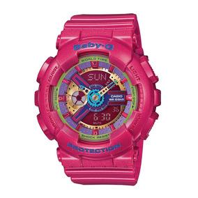 Relógio Feminino Baby-g Analógico Digital Ba-112-4adr