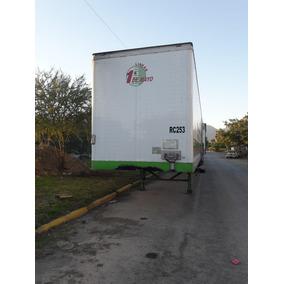 Caja Seca 53 Pies Año 2016 Remolque Caja Seca