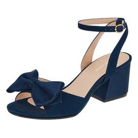 5a5e3f15 Zapatos Satin - Zapatos para Niñas Azul en Mercado Libre México