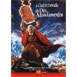 Dvd Duplo Os Dez Mandamentos - Ed. Colecionador (lacrado)
