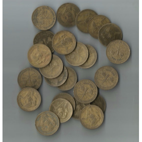 Moedas De Bronze-1mil Réis-2 Caras=alianças!20 Und
