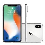 Iphone X Apple 256gb 5,8 4g 12mp Mqag2bz/a - Prata