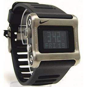 22d969721ed Raro Relógio Nike Ratchet Wc0039 De Titanio De Colecionador