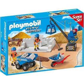 Super Set Construccion Playmobil R4636