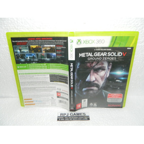 Metal Gear Solid V Ground Zeroes Midia Fisica Caixa Xbox 360