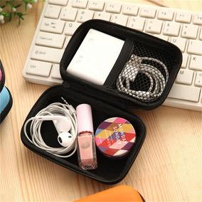 Estuche Para Audifonos, Auriculares, Usb, Manos Libres, Ipod