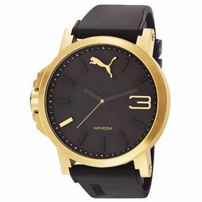 Relógio Puma Dourado Ultrasize Original Estados Unidos Top