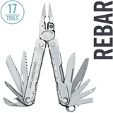Leatherman Rebar Multitool Edc Original C/ Bainha