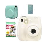 Nueva Camara Fujifilm Mini 7s Blanca Con Accesorios