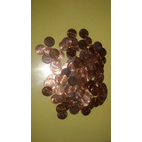 Lote De 100 Monedas De 1 Ctv (one Cent)