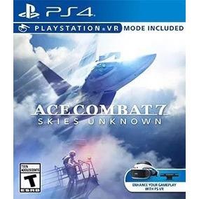 Jogo Ace Combat 7 Ps4 Original 1 Primaria