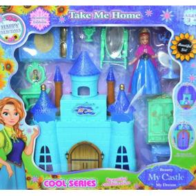 Castillo Frozen Princesa Anna Casa Muñeca Juguete Niña Elsa