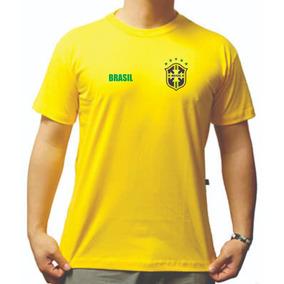 14a3f204e8342 Copa 2018 - Camisetas e Blusas para Masculino no Mercado Livre Brasil