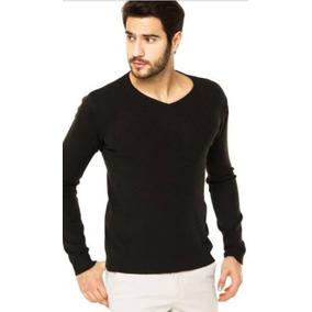 1673fd53f Sueter Tricot Masculino - Suéter Masculinas no Mercado Livre Brasil