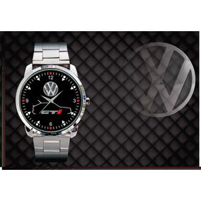 Relógio De Pulso Personalizado Vw Gol Quadrado Gti Gol Gti