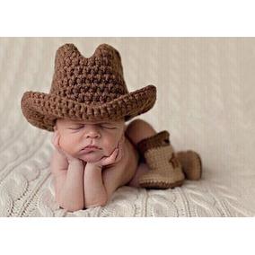 Chapeu Cowboy Newborn - Roupas de Bebê no Mercado Livre Brasil 958ed955bb4