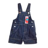 Jardinero Corto Jeans Para Bebés