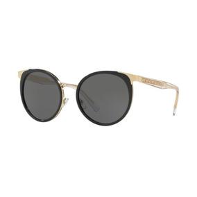 Oculos Sol Versace Ve2185 125287 54 Preto Dourado Brilho bd02229482