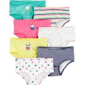 Carters Panties Niña Set De 7 Pzas Talla 8, 10/12