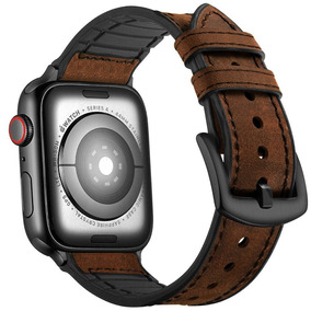 a7a2a48641b Pulseira De Couro Para Apple Watch - Relógios no Mercado Livre Brasil