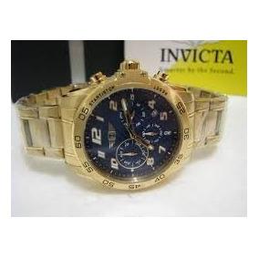 Relógio Invicta Banhado A Ouro 18 Original (novo)