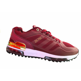 buy online bd21e dea08 Tenis Modelo adidas Zx750 Vino Dorado
