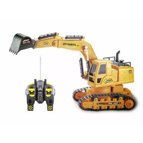 Trator Escavadeira 6811 Controle Remoto Frete Grátis