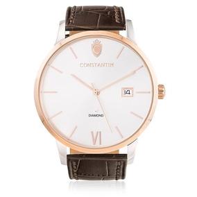 d0cdc6116e4 Relogio Constantim Diamond Luxo - Relógios De Pulso no Mercado Livre ...