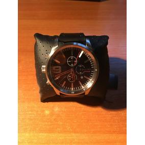 Relógio Diesel Masculino Couro - Dz4444 Preto
