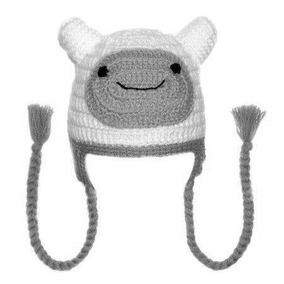Touca Croche Finn Hora De Aventura - Cosplay Gorro - Newbon 291a5f26c0b