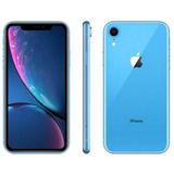 iPhone Xr Apple Azul 128gb Tela Liquid Retina 6.1 Câmera