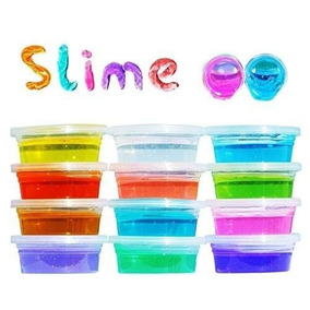 Slime Crystal Moco Masa Flexible Anti Stress