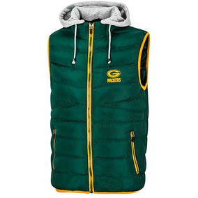 Chaleco Nfl Green Bay Packers 316495 Verde-gris Caballero Oi
