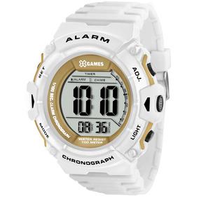 Relogio Branco Masculino Digital X Games - Relógios De Pulso no ... 54157780ef