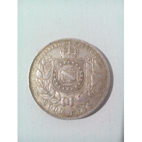 Moeda 2000 Réis 1889 Prata