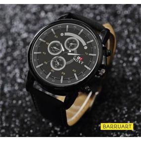 Relógio Masculino Importado De Luxo Soxy + Estojo Acrílico